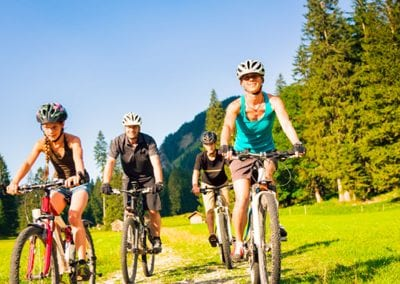 Biking in Forest of Dean
